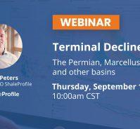 Terminal Decline Rates – September 2019