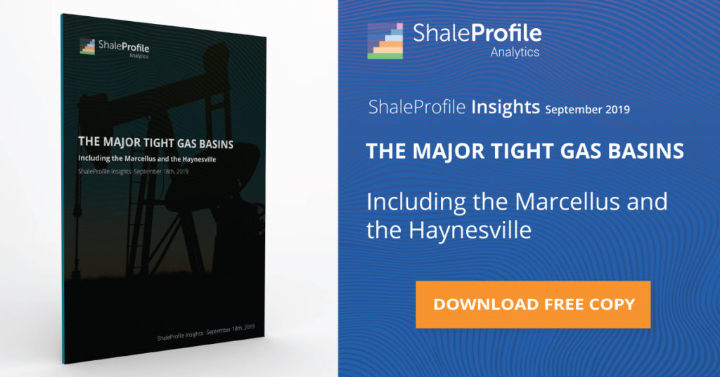 THE MAJOR TIGHT GAS BASINS UPDATE- September 2019